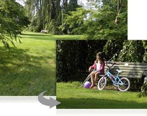 10x optical Zoom-NIKKOR ED glass lens