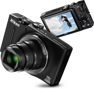 The Nikon COOLPIX S8200