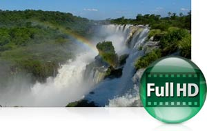 Full HD (1080p) movies with stereo sound