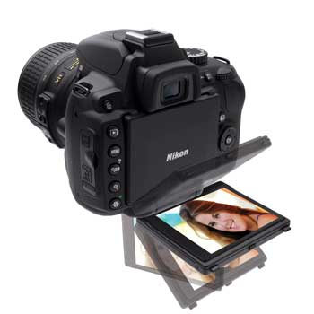 Nikon D5000 digital SLR highlights