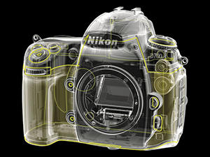 D700 Body Diagram