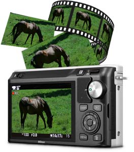 Simultaneously capture Full HD (1080p) movies and photos