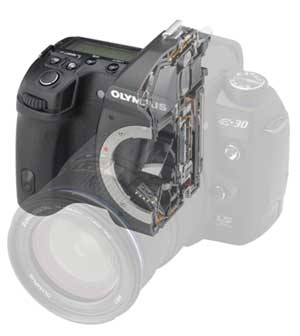 Olympus E-30 digital SLR highlights