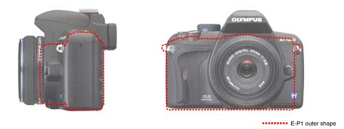 Olympus PEN E-P1 digital camera highlights