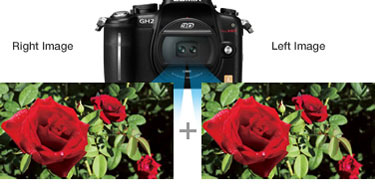 Panasonic Interchangeable 3D 12.5mm f12 Lens for Lumix