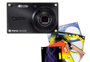 Pentax Optio RS1000 digital camera highlights