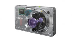 Sony X-series digital camera highlights