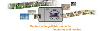 Sony Cyber-shot highlights
