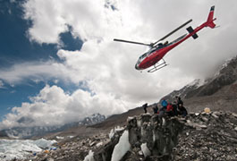 The Call of Everest: Helicopter Drop Off