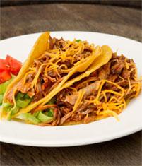 Tinga-Style Barbecue Pork Tacos