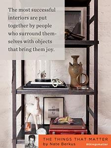Interiors: Objects that bring joy