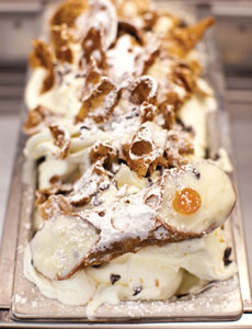Gelato al Cannolo Cannoli Ice Cream
