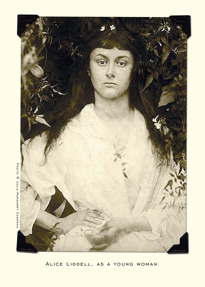 "Alice as a Beggar Girl."" ""Alice Liddell, as a Young Woman"" ""Alice"