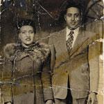 Henrietta and David Lacks, circa 1945.