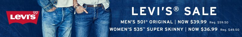 The Levi's Spring Sale at Amazon