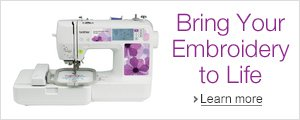Bring Your Embroidery to Life with the PE525 Embroidery Machine from Brother