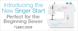 Introducing the Singer Start Sewing Machine