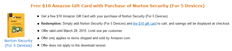 Symantec Deal of the Week