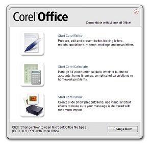 Corel Office Launcher
