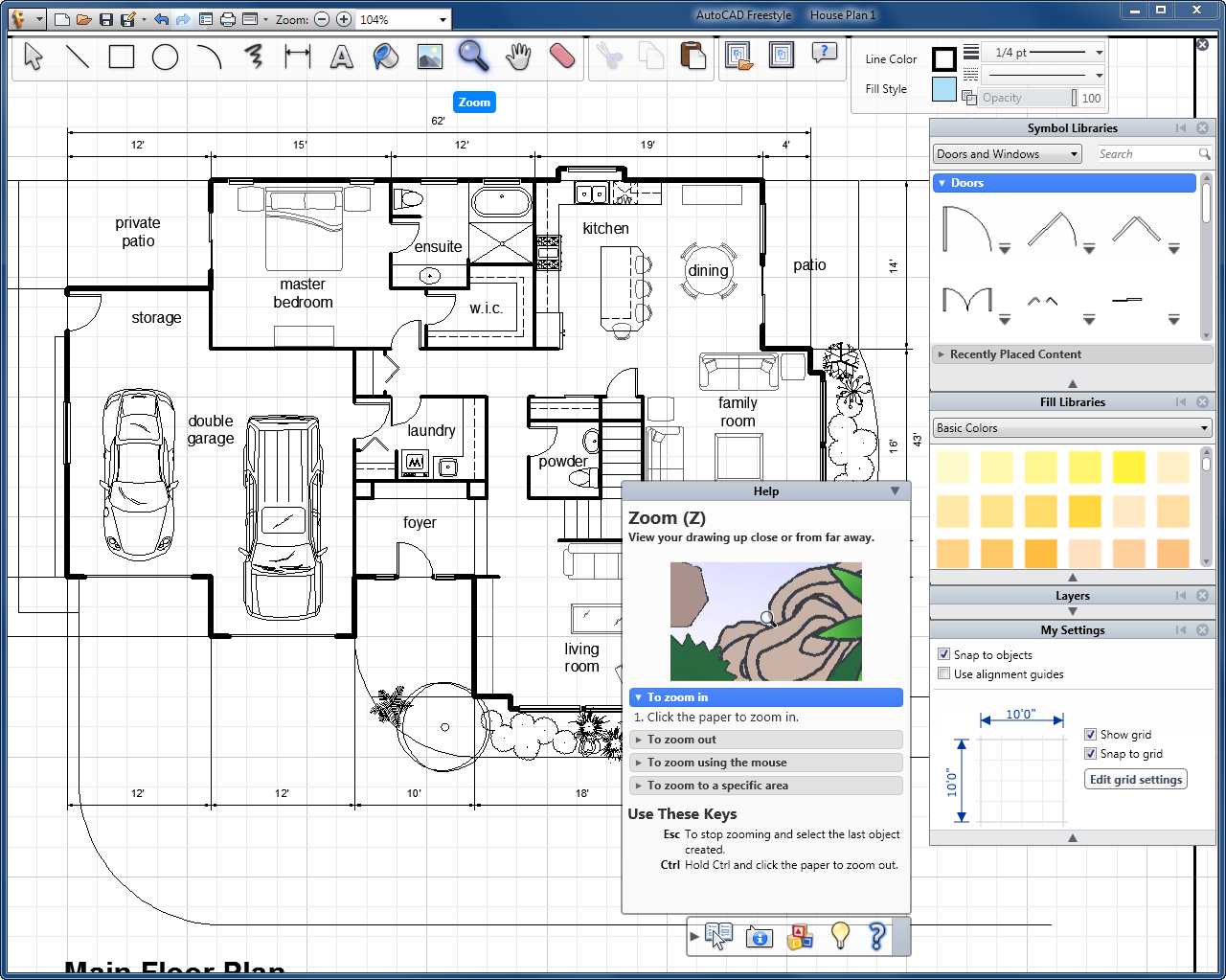 Magnificent 2D AutoCAD Drawings Floor Plans 1280 x 1023 · 175 kB · png