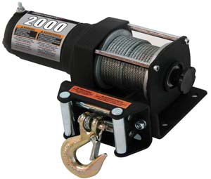 The Champion 12002 Winch - 2000-lb Rated Pull