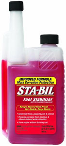 32-oz bottle of Gold Eagle Sta-Bil Fuel Stabilizer