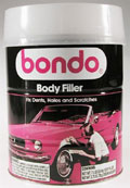 1 gallon container of 3M/Bondo 265 Auto Body Filler