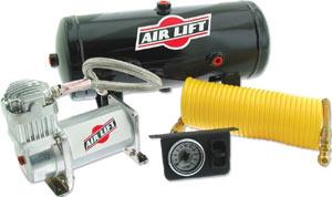 The Air Lift 25690 Quick Shot Air Compressor System