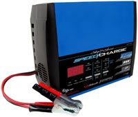 Front side view of the Schumacher SSC-1500A Ship 'n Shore SpeedCharge Charger