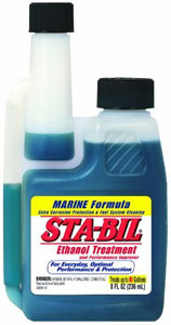 8-oz bottle of Gold Eagle Sta-Bil Ethanol Treatment and Performance Improver - Marine Formula