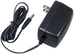 AC charging adapter included with the Wagan 400-Watt Power Dome EX