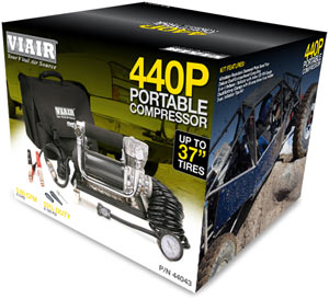 VIAIR 440P Portable Compressor in packaging
