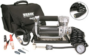 VIAIR 440P Portable Compressor with included accessories