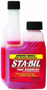 8-oz bottle of Gold Eagle Sta-Bil Fuel Stabilizer