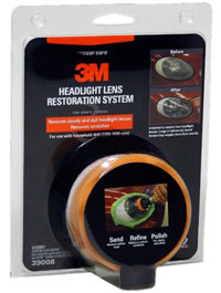 3M Headlight Lens Restoration System packaging