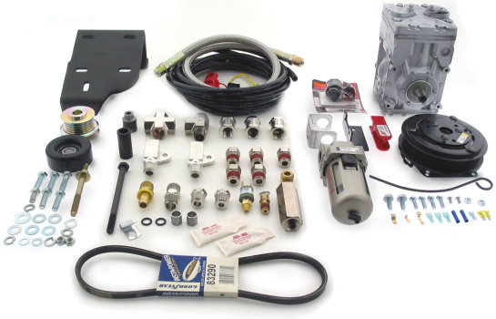 Air lift 27361 air commander do it yourself engine driven for Motor driven air compressor