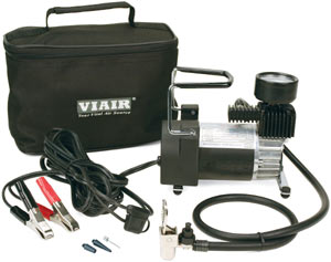VIAIR 90P Portable Compressor with included accessories