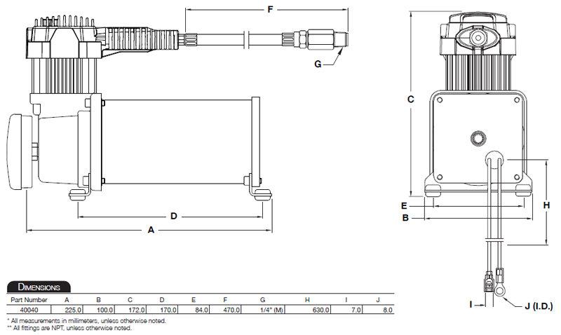 amazon com  air lift 23400 viair 400c air compressor dual