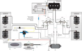 Air Lift Auto Pilot Digital Air Management schematic