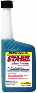 10-oz bottle of Gold Eagle Sta-Bil Ethanol Treatment and Performance Improver - Marine Formula