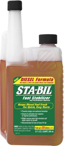32-oz bottle of Gold Eagle Sta-Bil Diesel Fuel Stabilizer