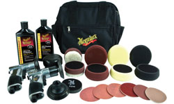 Meguiar's Professional Headlight and Spot Repair Kit contents