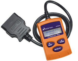 Actron CP9550 OBD-II PocketScan Plus Compact Code Reader Tool