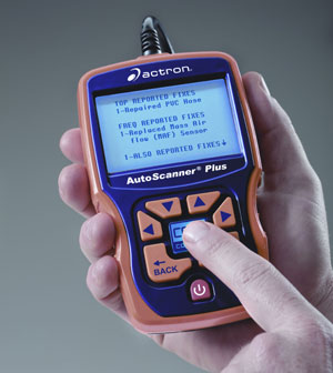 Using CodeConnect on the Actron CP9580 AutoScanner Plus