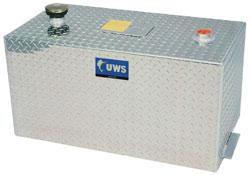The UWS TT-100-R-T/P 100-gallon rectangular transfer tank