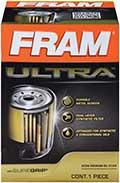 FRAM Ultra oil filter box front