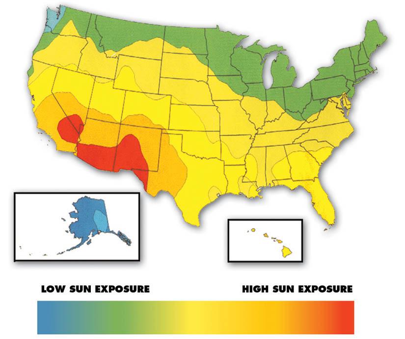 Guide To Solar Access Diy Solar Panel Mount - Solar map us