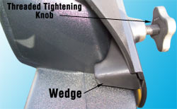 The secure wedge-lock design of CIPA Custom Towing Mirrors