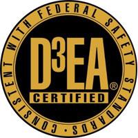 D3EA certified seal