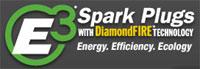 The E3 Spark Plug logo